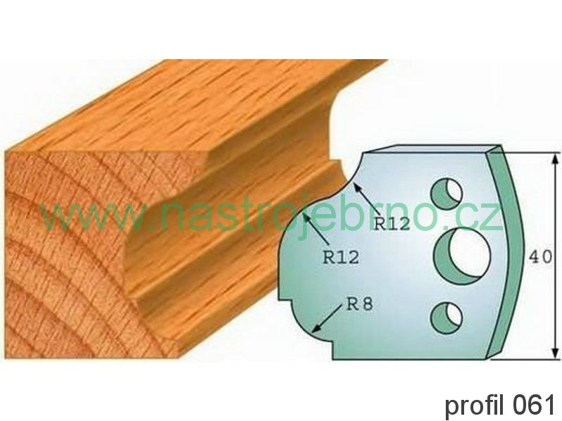 Omezovač profilových nožů 061 PILANA