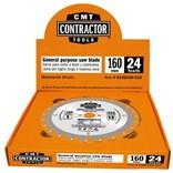 CMT Contractor Pilový kotouč na dřevo - D160x2,2 d20 Z40 HM