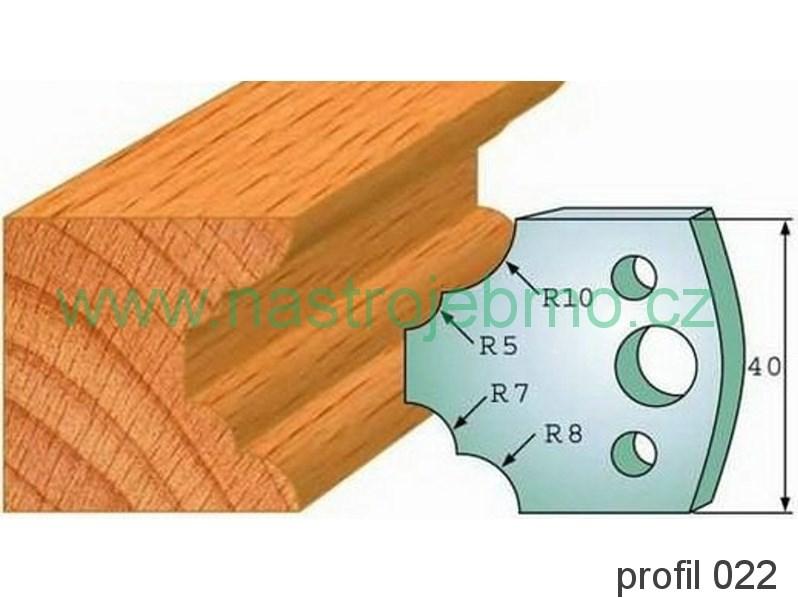 Profilový nůž 022 PILANA