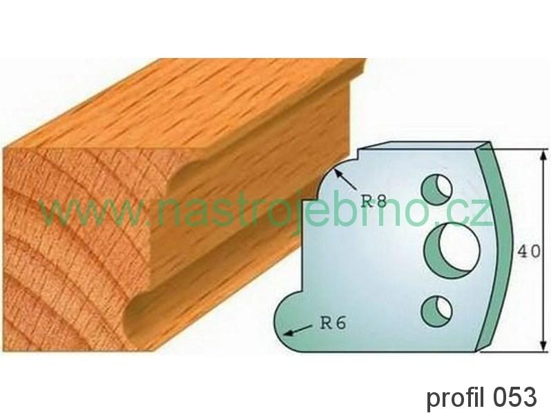 Omezovač profilových nožů 053 PILANA