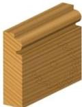 Stopková fréza na dřevo rádiusová půlkruhová FREUD 8010808 - profil