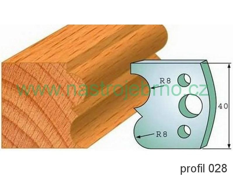 Omezovač profilových nožů 028 PILANA