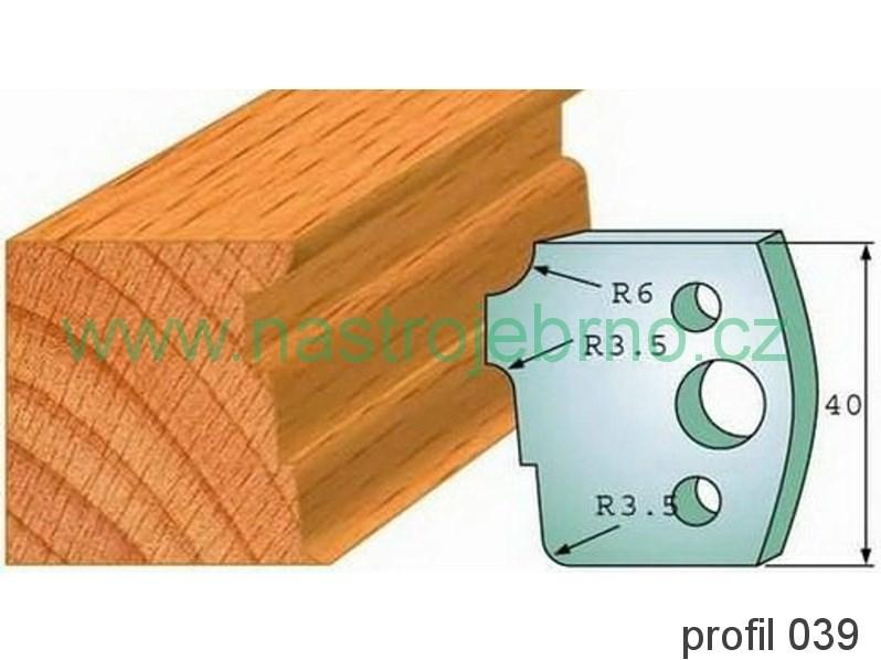 Profilový nůž 039 PILANA