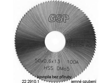 Pilový kotouč na kov 20x2,00x5 HSS  bez příruby