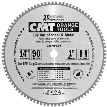 CMT Industrial Pilový kotouč na železo - D216x2,2 d30 Z48 HM