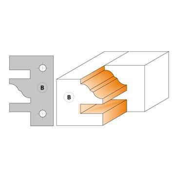 CMT Nůž pro C694014 - pár žiletek profil B 40x24,5x2mm