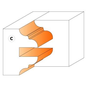 CMT Nůž pro C694015 - pár žiletek C1 25x29,8x2mm