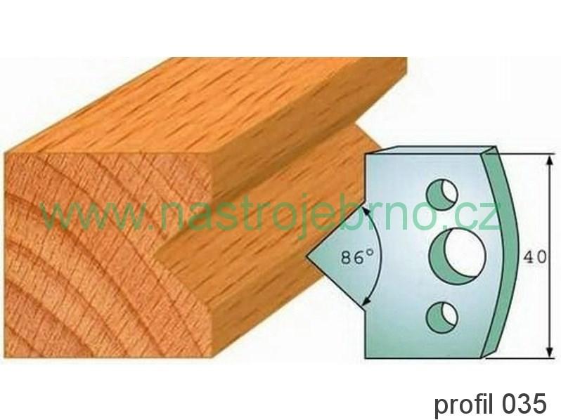 Omezovač profilových nožů 035 PILANA