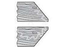 Úhlová fréza na dřevo - profil