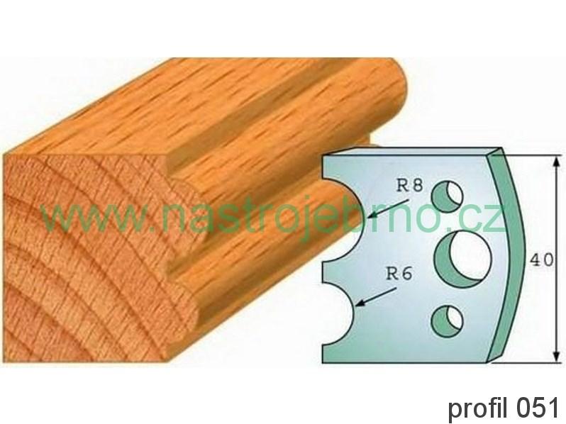 Omezovač profilových nožů 051 PILANA