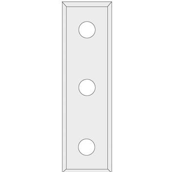 IGM N012 Žiletka tvrdokovová Z4 - 50x9x1,5 LaminoMDF