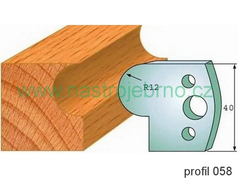 Omezovač profilových nožů 058 PILANA