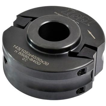 Univerzální frézovací hlava IGM MEC - D100x40-50 d30 OCEL