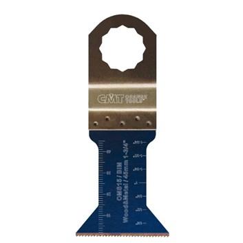CMT Ponorný pilový list BIM, na dřevo, kov - 45mm, sada 5 ks, pro Fein, Festool