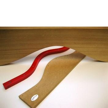 Flexibilní Formfix šablona pro frézování oblouků a křivek 1250x22x22mm