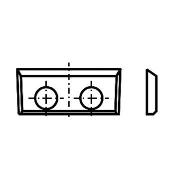 IGM Žiletka tvrdokovová - 16x7x1,5 UNI bez lamačů