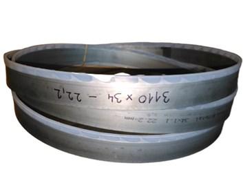 Pilový pás na dřevo bimetal 3110x34x1,1 z=2 t=12,8 KMENOVÝ