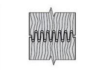Spárovací fréza KARNED 8356 125x85x30 - profil spárování