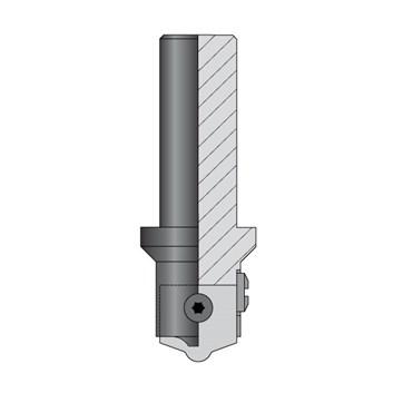 CMT C615 Profilová fréza typ D S=20mm