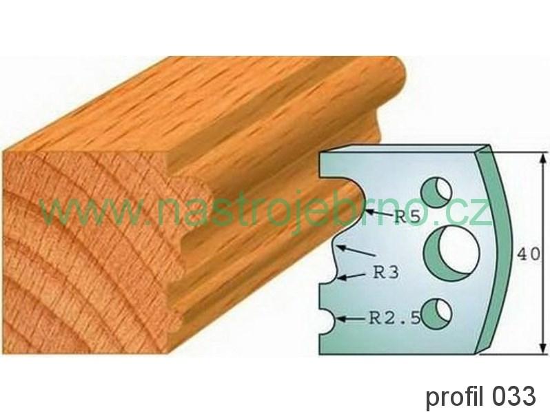 Profilový nůž 033 PILANA