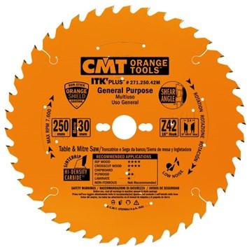 CMT ITK Ultra tenký kotouč univerzální - D250x2,4 d30 Z42 HM