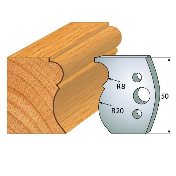 pár nožů 50x4mm SP - profil 502
