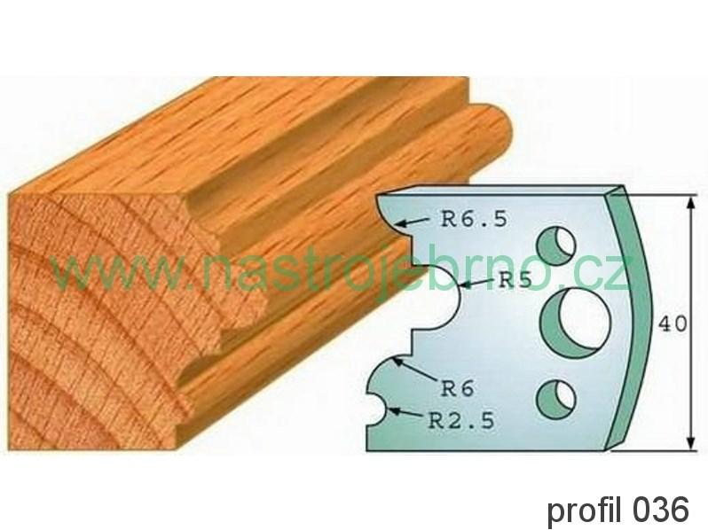 Omezovač profilových nožů 036 PILANA