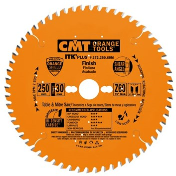 CMT ITK Ultra tenký kotouč pro příčné řezy - D190x1,7 d30(+20,+16) Z42 HM