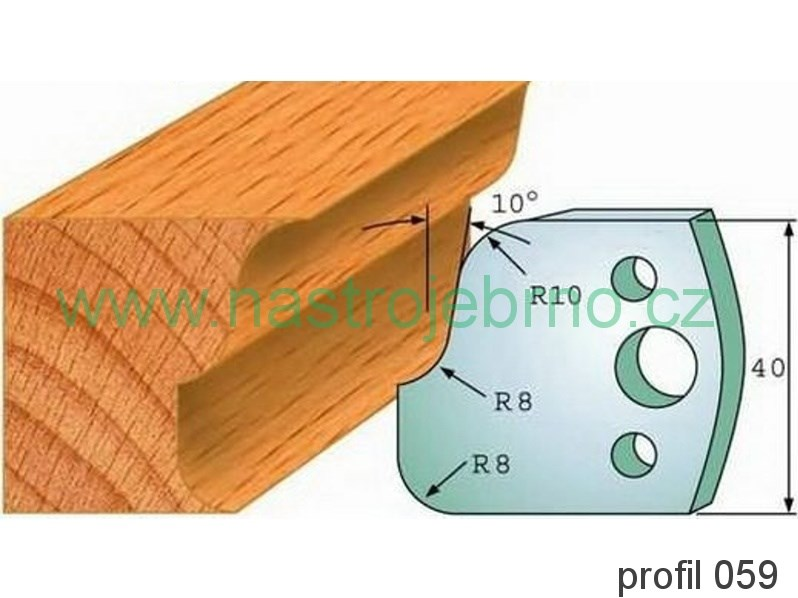 Profilový nůž 059 PILANA