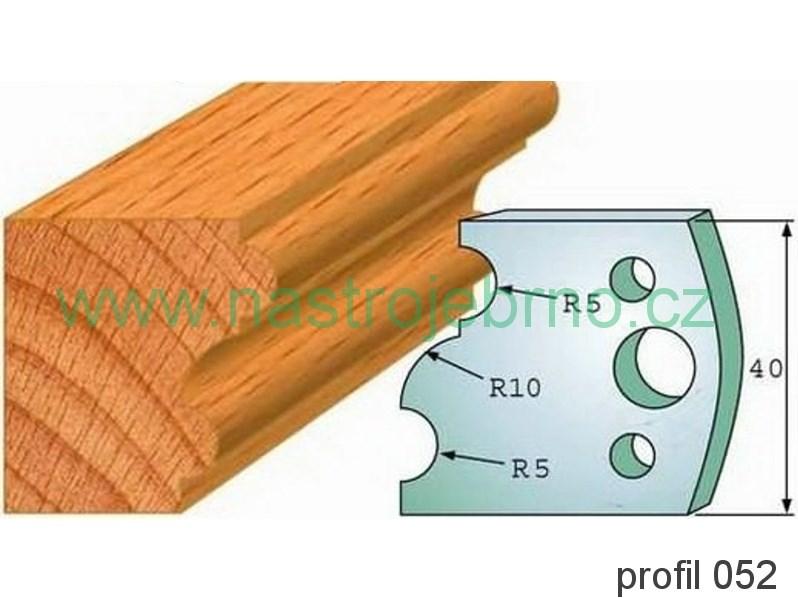 Omezovač profilových nožů 052 PILANA