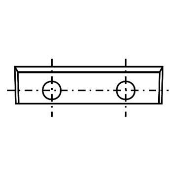 IGM Žiletka tvrdokovová - 28x7x1,5 UNI