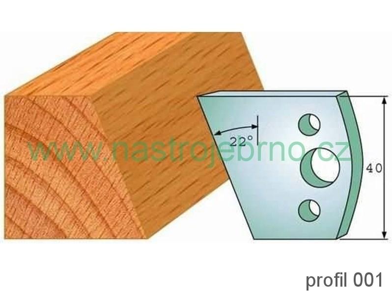 Profilový nůž 001 PILANA