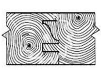 Fréza na nábytkové dveře KARNED 8152/S s VBD - profil