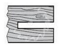 Fréza na dřevo drážkovací KARNED 5011 - profil