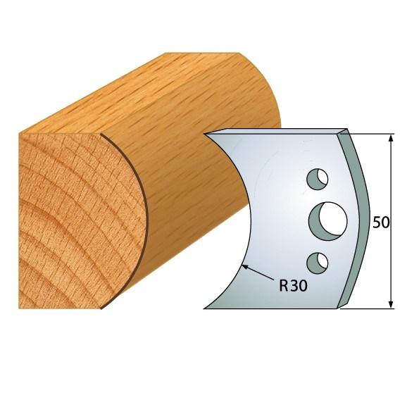 pár nožů 50x4mm SP - profil 547