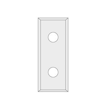 IGM N012 Žiletka tvrdokovová Z4 - 29,5x9x1,5 UNI
