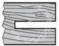 Fréza na dřevo drážkovací KARNED 1150 - profil