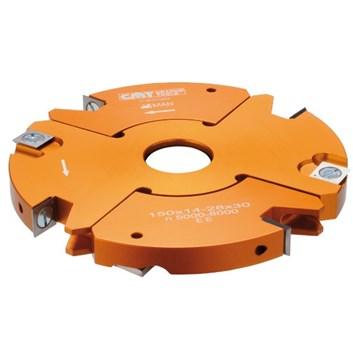 CMT Stavitelná drážkovací fréza 2 dílná - D150x14-28 d30 Z2+2 V2+2
