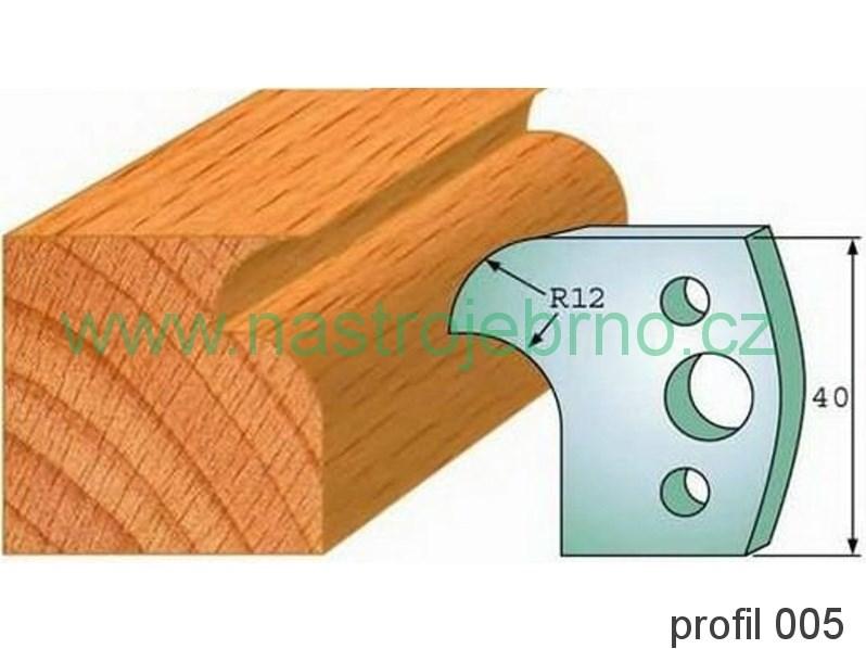 Profilový nůž 005 PILANA