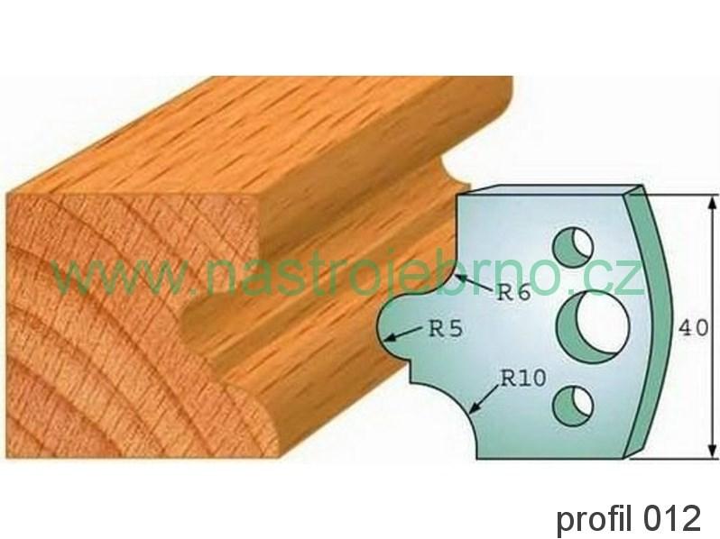 Omezovač profilových nožů 012 PILANA