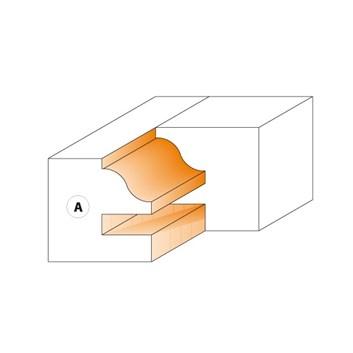 CMT Nůž pro C694014 - pár žiletek profil A 40x24,5x2mm