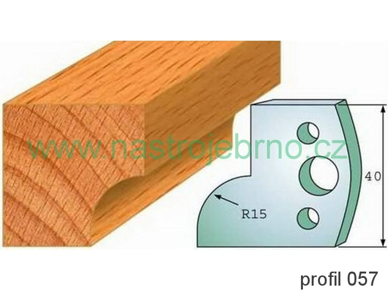 Profilový nůž 057 PILANA