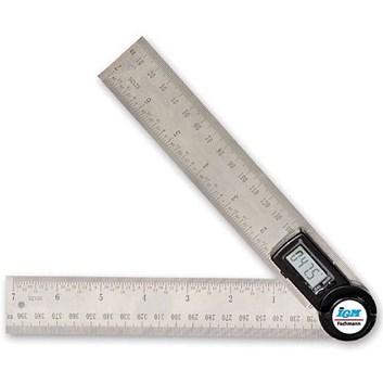 IGM Fachmann Digitální úhlové pravítko - 200mm (celkem 400mm)