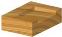 Stopková fréza na dřevo zavrtávací FREUD 1710408 - použití