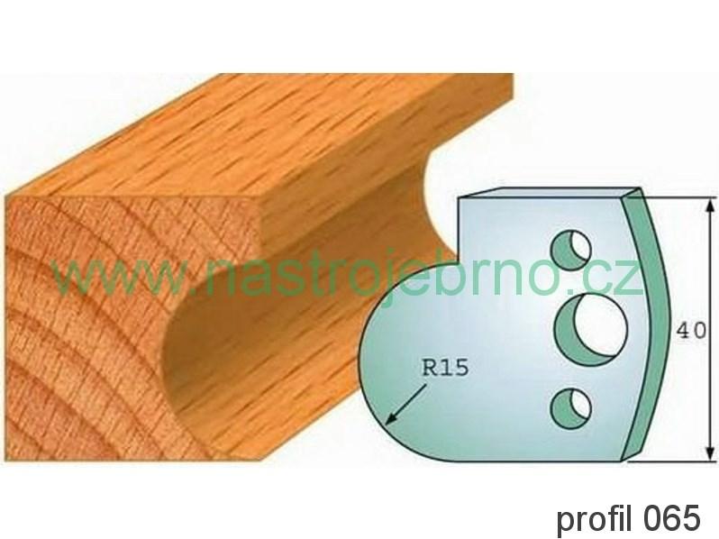 Omezovač profilových nožů 065 PILANA