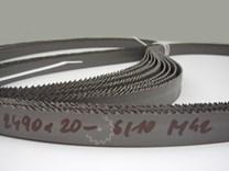 Pilový pás na kov bimetal šíře 20 mm - ozubení 6/10 - hrubší