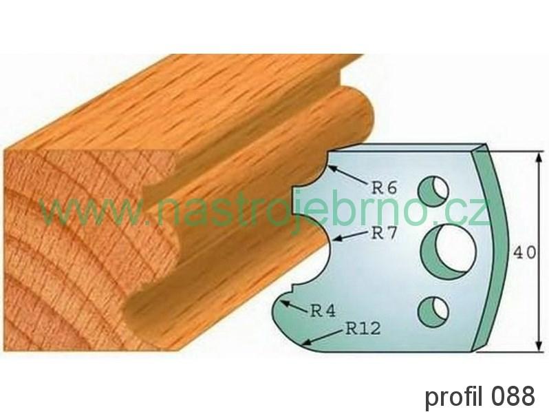 Profilový nůž 088 PILANA