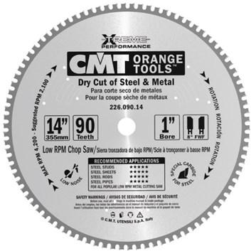 CMT Industrial Pilový kotouč na železo - D254x2,2 d16 Z60 HM