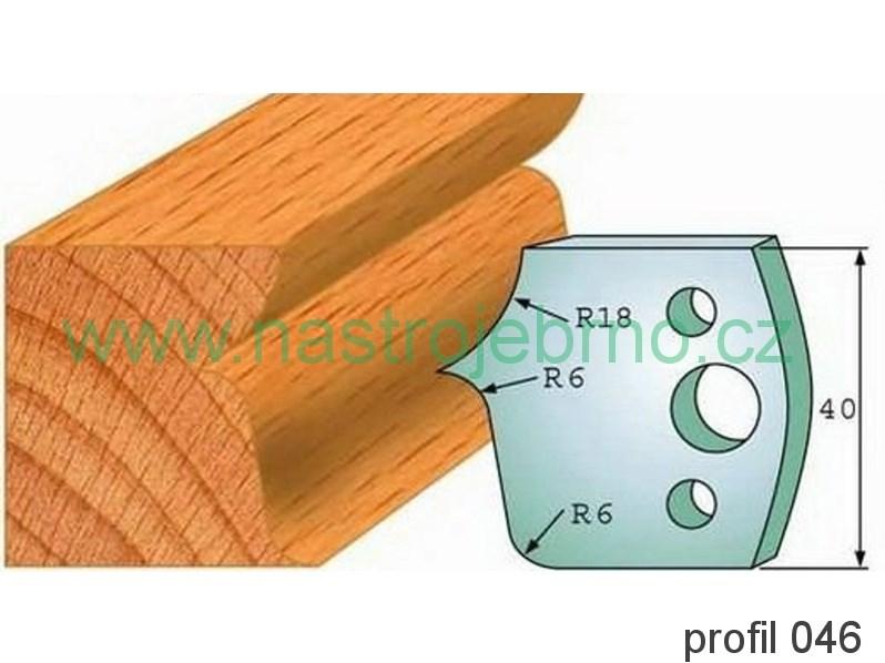 Omezovač profilových nožů 046 PILANA