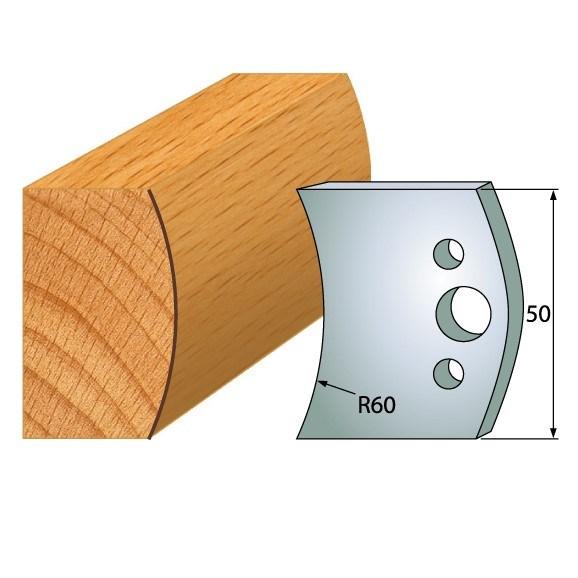 IGM profil 573 - pár nožů 50x4mm SP